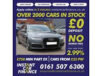 Audi A6 Avant2.0TDI ultra(190ps )(s/s)AvantS Tronic 2015M BlackEdition FROM£98PW