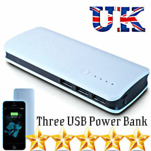 100000MAH USB POWER BANK PORTABLE CHARGER FOR SAMSUNG LG ONEPLUS IPHONE IPAD UK