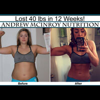 Lose weight, get toned! Best NUTRITION Plan. Customized!