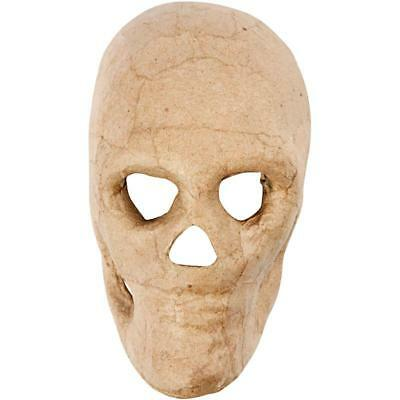 Halloween Skull Skeleton Mask Scary Craft Paper Mache Make Decoration Model - Making Halloween Masks Paper Mache