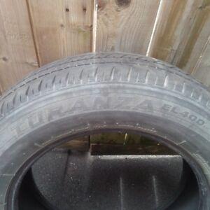 4 Pneus/Tires 225 65 r17, reste 1 saison, 1 season left