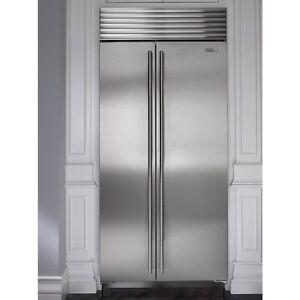 """Refrigerateur / congelateur 36"""" Subzero en stainless / 2013"""
