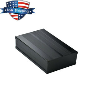 Aluminum DIY Project Box Enclosure Case PCB/Amplifier/Electronic 200*105*55mm