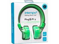 Intempo Neon Headphones
