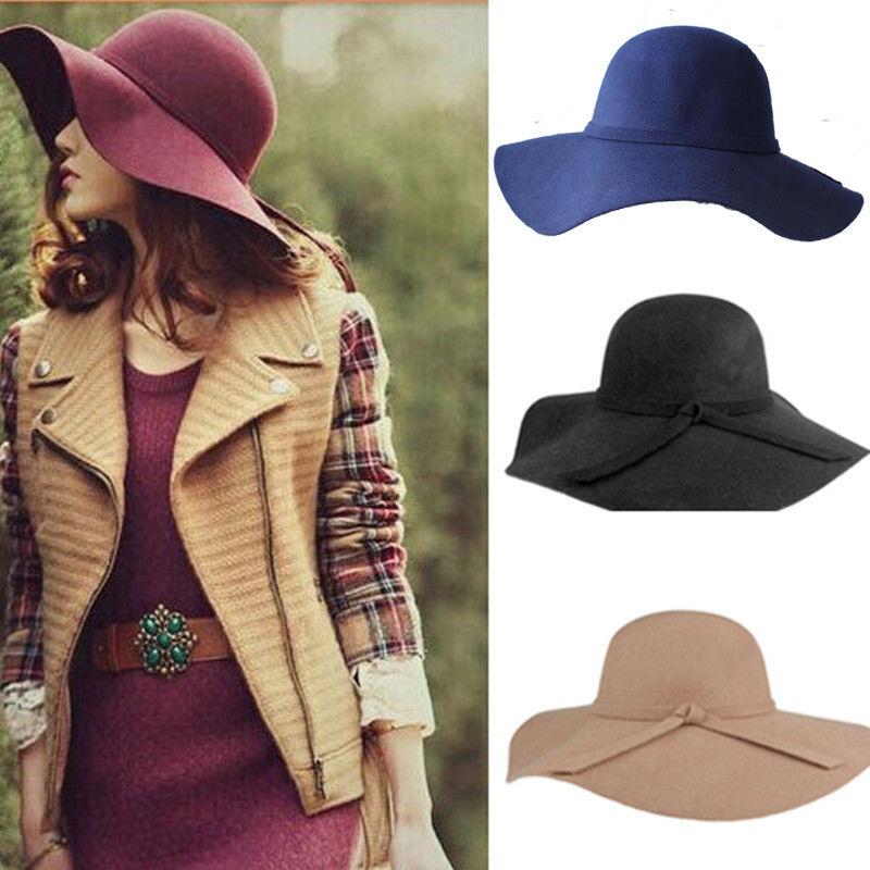 С чем носят шляпы с полями женщины