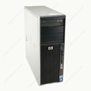 HP Z400 W3520 2.6GHz, 16GB, 250GB, Quadro 600, Win 7 Pro