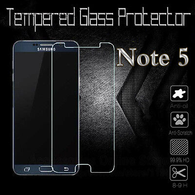 For Samsung Galaxy Note 5 .45mm Tempered Shatterproof Glass Screen Protector
