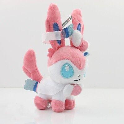 9 Pcs 5'' Pokemon Plush Toy Doll Eevee Leafeon Umbreon Jolteon Sylveon Set !