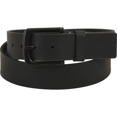 Timberland Mens Belt Genuine Leather Classic Dress Black Metal Buckle Size (Metal Classic Belt)