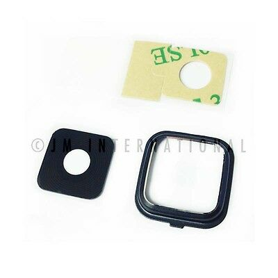 Camera Glass Lens Cover Black Samsung Galaxy Note 4 N910 Replacement Part USA