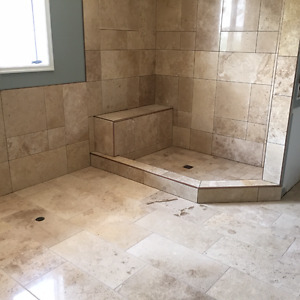 Contractors - Home Renovators! Travertine Tile