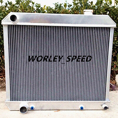 Aluminum Radiator For Cadillac Deville 3Core 1960-1965 1960 1961 1962 1963 1964  for sale  Shipping to Canada