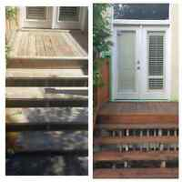 Deck Beautification & Pressure Washing