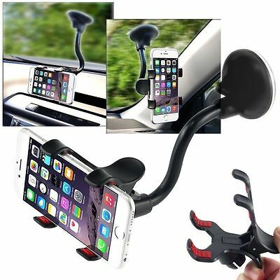 Best 360° Car Windshield Mount Cradle Holder Stand For Mobile Cell Phone
