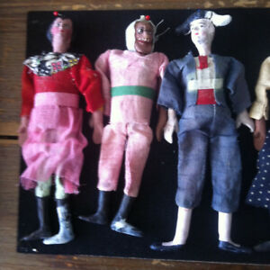 Clay Puppets Early XX Century
