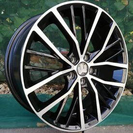 "17"" Polo GTI Style for VW Audi Seat 5x100 Etc"