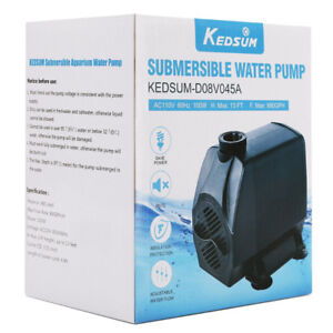 Brand New Ultra Quiet 880GPH/ 3500L/H Submersible Water Pump