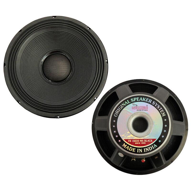 "5Core 18"" Speaker PRO AUDIO Replacement DJ SubWoofer SUB Loud 107 OZ Magnet 8 Ω"