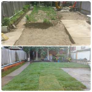 Sod Installation from $ 1/Sq.ft.