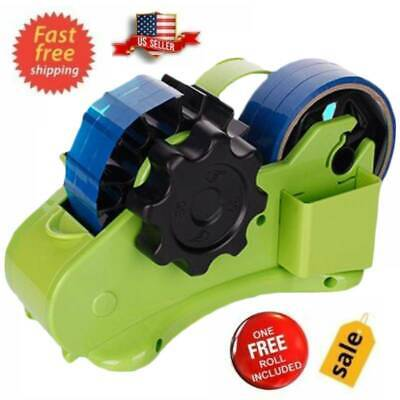 Heavy Duty 2 In 1 Home Office Portable Recycled Desktop Tape Dispenser Us Stock