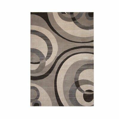 Abacasa Sonoma Cicero Grey-Ivory 5x8 Area Rug