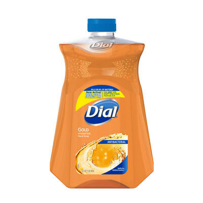 Dial Gold Antibacterial Hand Soap with Moisturizer, Refill 52 oz