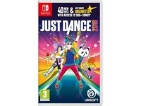 **SEALED** NINTENDO SWITCH AND JUST DANCE 2018 GAME BRAND NEW AND INCLUDES 1 YEAR WARRANTY