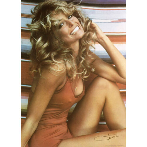 Farrah Fawcett 1976 Iconic Bathing Suit Poster