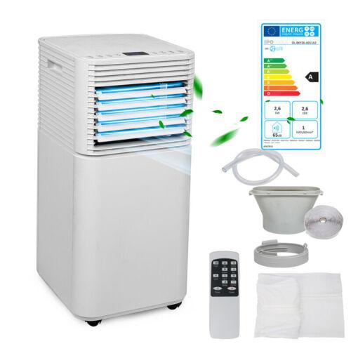 Mobile Klimaanlage Eco Silent Klimagerät Kühlen Luftentfeuchter 7000 BTU Timer