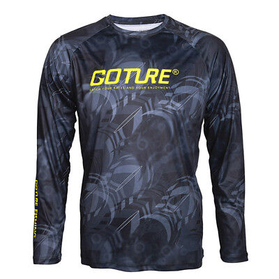 Fishing Shirt Long Sleeve Clothing Quick Dry Sports T-shirt Size M/L/XL/XXL
