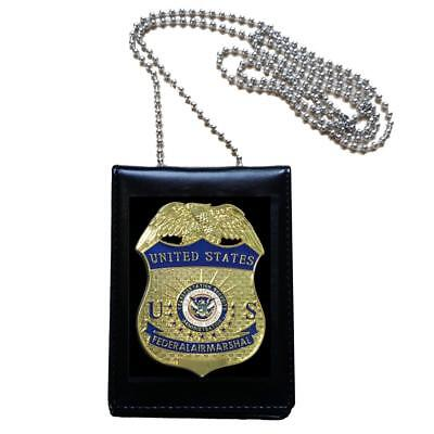 United States US Federal Air Marshal Officer Badge Collection Cosplay Props FAM
