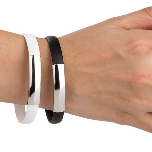 Bracelet Micro USB Type C Cable Data Sync Wrist Bracelet Typ