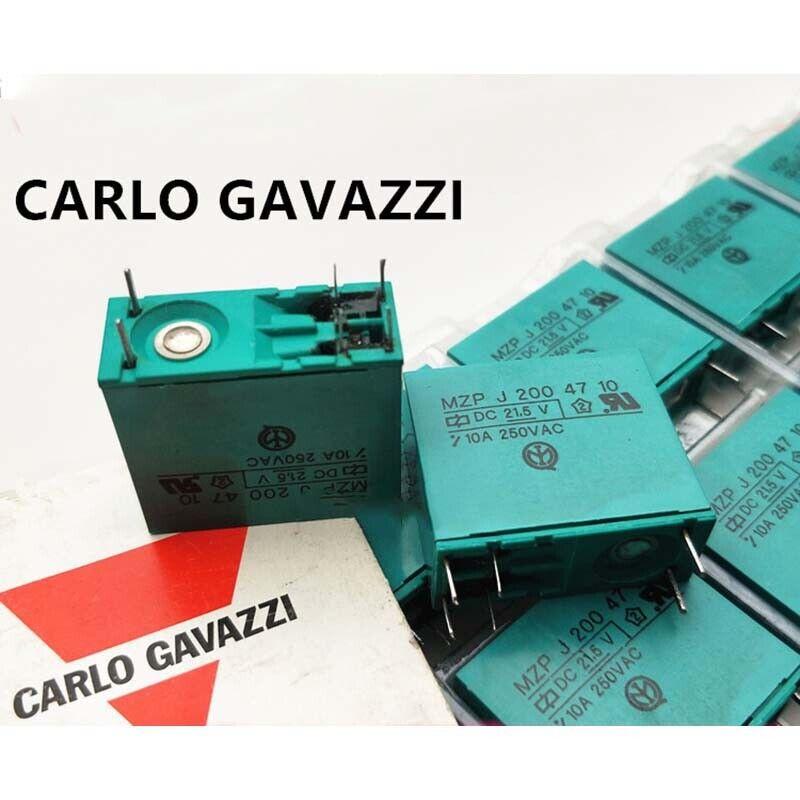 5PCS CARLO GAVAZZI MZPJ2004710 21.5VDC 6Pin 10A 250VAC