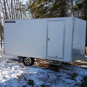 Aluma 8.5' x 14' enclosed trailer