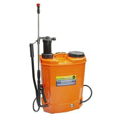 Sulfatadora Electrica A Bateria Doble Uso Bateria o Manual, Bateria Recargable 1