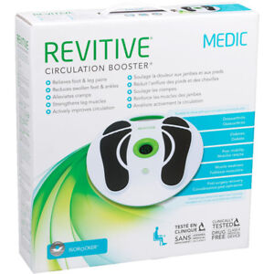 NEW REVITIVE CIRCULATION BOOSTER MEDIC WITH REMOTE