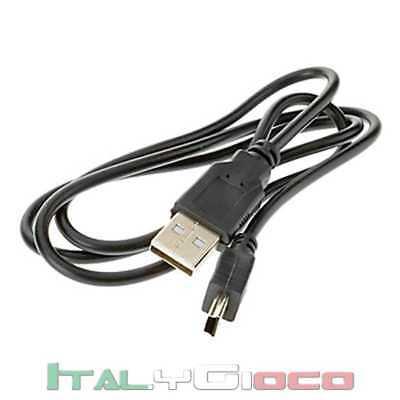 Cavo USB 2.0 A a MINI Maschio B 4pin per Navigatore MP3 MP4 MP5 PSP GPS Cavetto