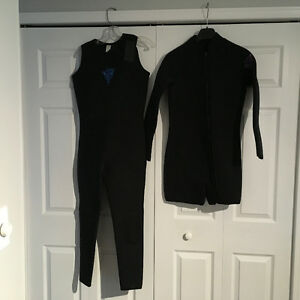 Ladies 2pc. Wet suit