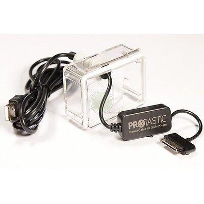 Waterproof USB Battery Eliminator Power Cable (GoPro® Hero 3+ / 4) For GoPro. UK