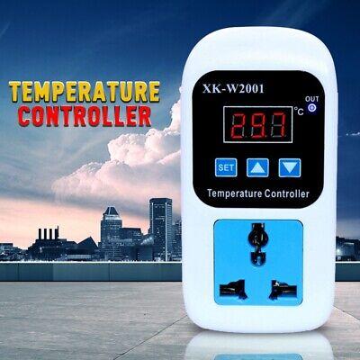 Digital Temperature Controller Control Thermostat Switch Socket 110v-220v