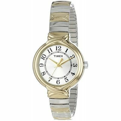 Timex T2N979, Women's Two-Tone Expansion Band Watch