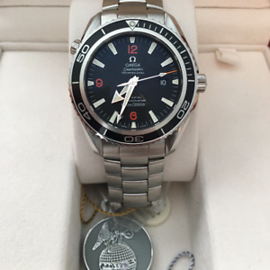 Omega Seamaster- Planet Ocean 45.5 XL with box and papers