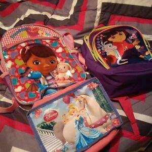Girls Small Back Packs