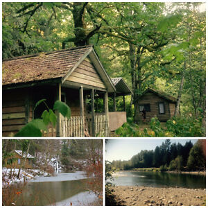 Camping & Cabins on Chilliwack River, Bring Your Horses!