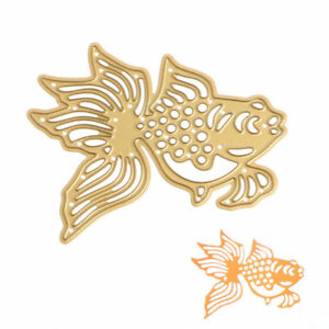 Goldfish metal cutting die for scrapbooking - $10