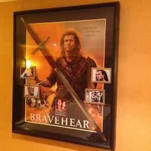 Lord of the rings and brave heart rat pack movie posters.