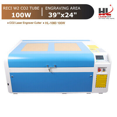 Reci 100w Co2 Laser Cut Machine Cutter Engraver 1000x600mm Auto Focus Us Stock