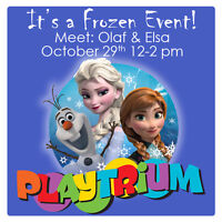 Frozen Fans Anywhere? Come hang out with Elsa & Olaf