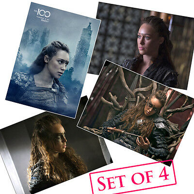 Alycia Debnam-Carey HQ Posters A4 NEW TV Show Lexa The 100 Sexy Hot Babe