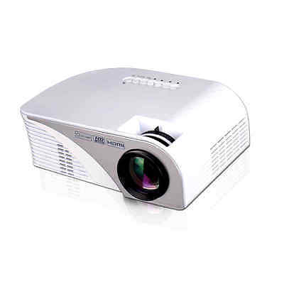 RD-805B LED Mini Projector Home Theater Projectors 1200 Lumens HDMI/VGA/USB/AV